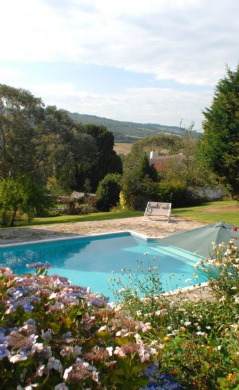 Luxury self-catering in Devon with swimming pool