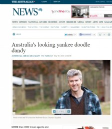 Australia&acute;s looking yankee doodle dandy
