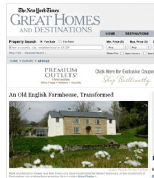 An Old English Farmhouse, Transformed