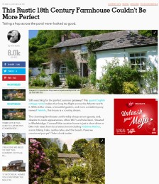 This Rustic 18th Century Farmhouse Couldn´t Be More Perfect