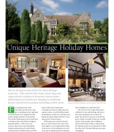 Unique Heritage Holiday Homes