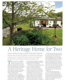 A Heritage Home for Two