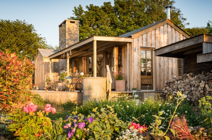 Shot  of Firefly from the floral summers garden property based in Cornwall by Unique Home Stays
