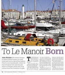 To Le Manoir Born