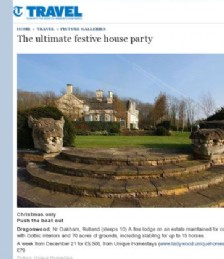 The ultimate festive house party