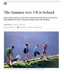 The Summer 100; UK and Ireland