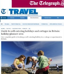 Guide to self-catering holidays and cottages in Britain: holiday planner 2011
