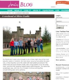 A Weekend at Shire Castle