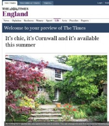 It�s chic, it�s Cornwall and it�s available this summer