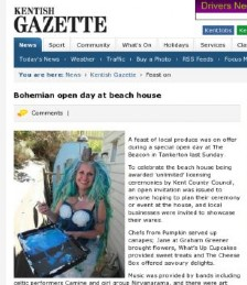 Bohemian Day At The Beach