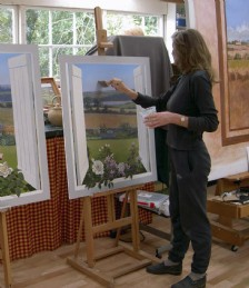 PAINT A PICTURE OF LUXURY AT AN ARTIST´S RETREAT. IT CAN DO WONDERS FOR YOUR HEART AND SOUL