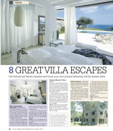 8 Great Villa Escapes