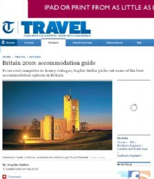 Britain 2010: accommodation guide