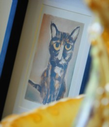 Win an original �Pawtrait� of your pet!