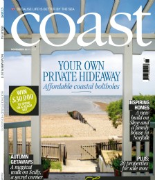 Coast Cover Shot - November issue, Luxury Coastal Retreat Whitstable