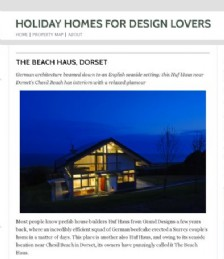Holiday Homes for Design Lovers