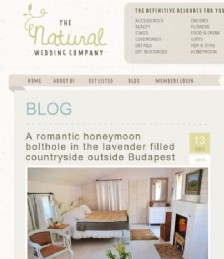 A Romantic Honeymoon Bolthole in the Lavender-Filled Budapest Countryside