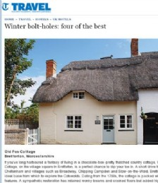 Winter bolt-holes: four of the best