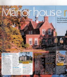 Manor House Mini-Breaks