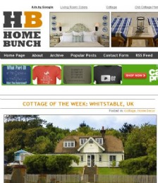 Cottage of the Week - Whitstable UK