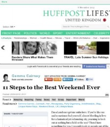 11 Steps to the Best Weekend Ever