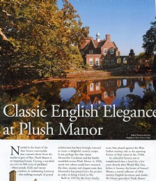 Classic English Elegance at Plush Manor