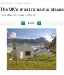 The UK&acute;s Most Romantic Places