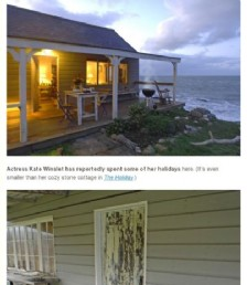 A Romantic Beach Hut for Two on the north Cornish Coast