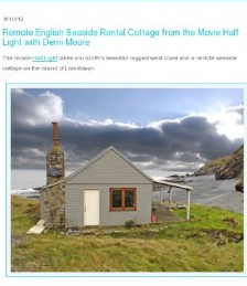 Remote English Seaside Cottage