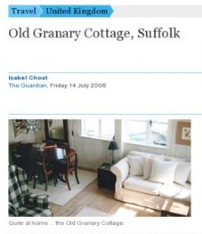 Old Granary Cottage, Suffolk