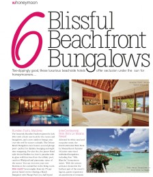 Blissful Beachfront Bungalows