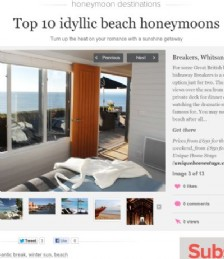Top 10 idyllic beach honeymoons