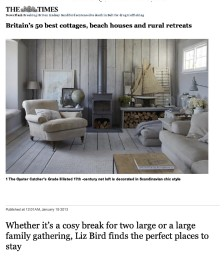 Britain&acute;s 50 Best Cottages, Beach Houses, and Rural Retreats