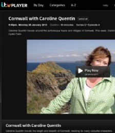 &quot;Cornwall&quot; with Caroline Quentin