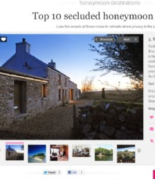 Top 10 Secluded Honeymoon Escapes