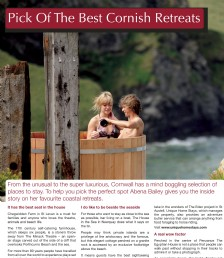 Pick Of The Best Cornish Retreats