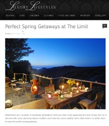Perfect Spring Getaways at The Limit