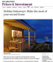 Holiday hideaways: Make the most of your second home