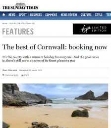 The best of Cornwall: booking now