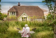 Picnic in the meadow and enjoy the sea views
