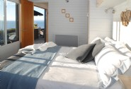 Sea views from your king-size bed