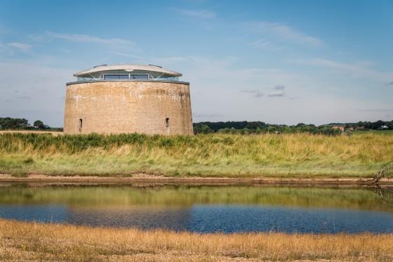 Found Tower, Bawdsey, Woodbridge, Suffolk, UK