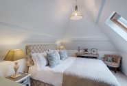 Little Gillyflower�s luxury king-size bedroom with en suite
