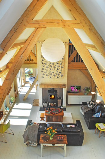 eco-friendly cottage set in Lesnewth, North Cornwall