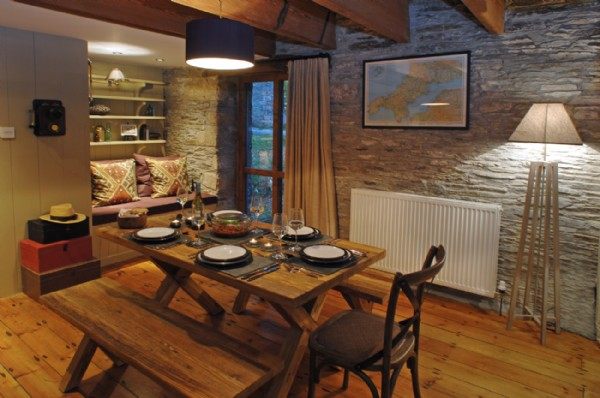 Awesome Dining Rooms From Hulsta: Luxury Self-catering Holiday Home Tintagel, Worthyvale