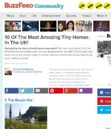 10 Of The Most Amazing Tiny Homes In The UK!