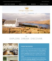 Luxury Eco Escapes and an Exclusive Property Comeback!
