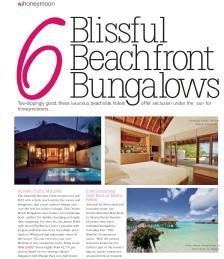 Blissful Beachfront Bungalows
