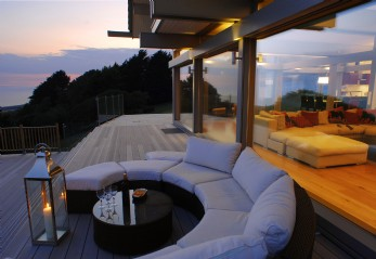 Selfcatering Huf Haus in Dorset