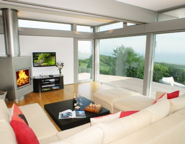 Luxury selfcatering Huf Haus in Burton Bradstock